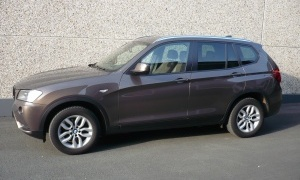 BMW X3 2.0D*BTE AUTO*CUIR*GPS*XENON*HEAD-UP*EXCLUSIVE LINE*PANO