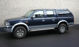 FORD RANGER 2.5 TDI*4WD*LUXE*AIRCO*H.TOP*ATT.REM*PACK CHROME