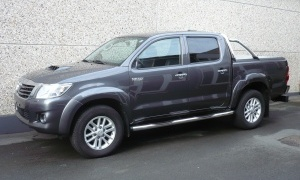 TOYOTA HILUX 3.0 D4D BTE A/T*AMAZONIA*CUIR*GPS*MOUNTAIN TOP ROLL*3.5T