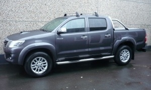 TOYOTA HILUX 3.0 D4D*BTE A/T*CUIR*GPS+CAMERA*ROLL COVER*ROLL BAR
