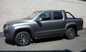 VW AMAROK 2.0 TDI BI-TURBO HIGHLINE*BOITE AUTO*CUIR*GPS*ROLL-LOCK