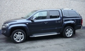 VW AMAROK 2.0 TDI BI-TURBO*HIGHLINE*BOITE AUTO*H.TOP*CUIR*GPS*19