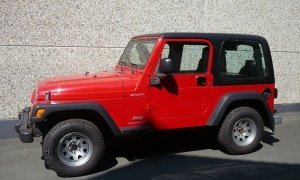 JEEP WRANGLER 2.4i SPORT*H.TOP+SOFT-TOP*CHROME