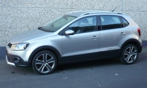 VW POLO CROSS 1.6 TDI*BTE DSG*GPS*AIRCO*SIEGES CHAUFF*J.A 17