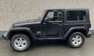 JEEP WRANGLER 2.8 CRD SAHARA*BTE MAN*H.TOP*SOFTTOP