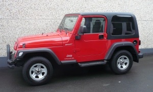 JEEP WRANGLER 2.4i SPORT*H.TOP*SOFT TOP